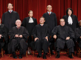With the Addition of Justice Sonia Sotomayor, The High Court Sits for a New Group Photograph Photographic Print