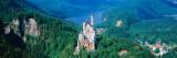 View of a Castle, Neuschwanstein Castle, Bavaria, Germany 写真プリント