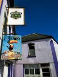 Pub Signs, Eyeries Village, Beara Peninsula, County Cork, Ireland Photographic Print