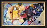 Yellow, Red, Blue, 1925 Pôsters por Wassily Kandinsky