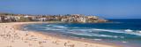 Tourists on the Beach, Bondi Beach, Sydney, New South Wales, Australia Fotografisk trykk av Panoramic Images,