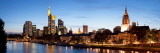 Buildings at the Waterfront, Main River, Frankfurt, Hesse, Germany Photographic Print