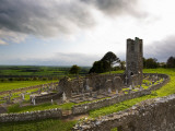 Remains of the Church on St Patrick's Hill, Slane, Co Meath, Ireland Photographic Print