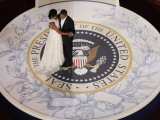 President Barack Obama and First Lady Dance at the Commander in Chief Inaugural Ball Photographic Print