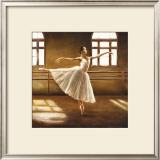 Ballet Dancer Art by Cristina Mavaracchio