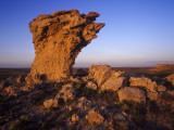 Rock Outcroppings in the Agate Fossil Beds National Monument, Nebraska, USA Photographic Print by Chuck Haney