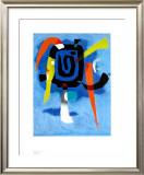 Bluxao V, 1955 Pôsters por Willi Baumeister