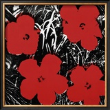 Flowers, c.1964 (Red) Posters por Andy Warhol