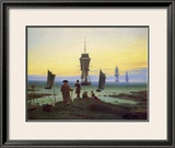The Stages of Life Impressão giclée emoldurada por Caspar David Friedrich