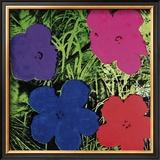 Flowers (Purple, Blue, Pink, Red) Pôsters por Andy Warhol