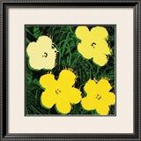 Flowers, c.1970 (Yellow) Pôsters por Andy Warhol