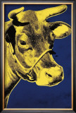 Cow, c.1971 (Blue and Yellow) Art by Andy Warhol
