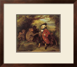 The Monkey who had seen the World Impressão giclée emoldurada por Edwin Henry Landseer