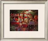 Rooftops II Print by Michael O'Toole