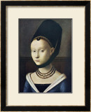 Portrait de Jeune Femme 高画質プリント : ペトルス・クリストゥス