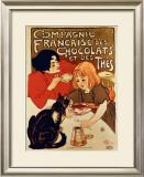 Compagnie Francaise Impressão giclée emoldurada por Théophile Alexandre Steinlen