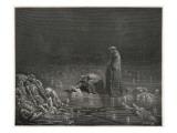 Dante in Hell Lámina giclée