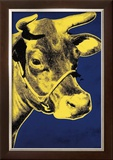 Cow, c.1971 (Blue and Yellow) Poster by Andy Warhol