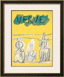 Cover For Verve, c.1951 Pôsters por Pablo Picasso