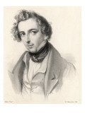 Felix Mendelssohn as a Young Man Giclee Print