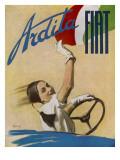 Fiat Ardita Advertisement 1932 Giclée-Druck