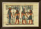 Egyptian Papyrus, Design IV Pôsteres