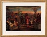 Summer's Evening, 1925 Pôsters por Tim Ashkar