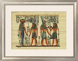 Egyptian Papyrus, Design IV Pôsters