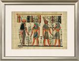 Egyptian Papyrus, Design III Arte