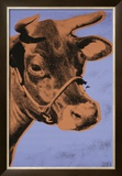 Cow, c.1971 (Purple and Orange) Poster by Andy Warhol