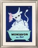 Monsavon au Lait 額入りジクレープリント : レイモン・サヴィニャック