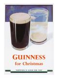 Guinness for Christmas Giclée-tryk