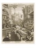 Gin Lane Giclee Print