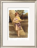 Ukulele Girl Print by  Himani