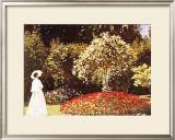 Promenade Dans un Parc Prints by Claude Monet