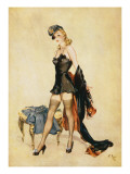 Off with the Old, on with the New Reproduction procédé giclée par David Wright