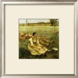Lepage, Les Foins, c.1885 Art by Jules Bastien-Lepage