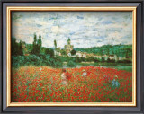 Field of Poppies at Giverny Pôsters por Claude Monet