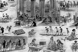 Montessori School Lámina giclée