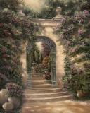 Watson's Garden I Affiches par Betsy Brown