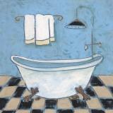 Scrub A Dub II Kunstdrucke von Carol Robinson