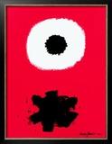 White Disc Red Ground, c.1967 Arte por Adolph Gottlieb
