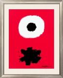 White Disc Red Ground, c.1967 Pôsters por Adolph Gottlieb