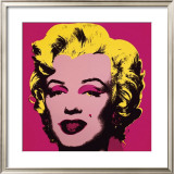 Marilyn, c.1967 (Hot Pink) Prints by Andy Warhol