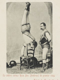 Turkish Wrestler Reproduction photographique