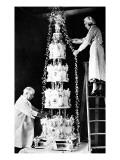 Wedding Cake Impressão giclée