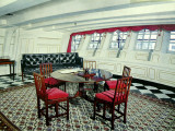 Admiral Nelson's Day Cabin in the H.M.S. Victory Fotografisk trykk