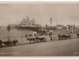 Morecambe, Lancashire: the Central Pier Reproduction photographique