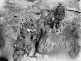 German Prisoners are Escorted in from the Battlefield During the Battle of Thiepval Ridge Photographic Print by Robert Hunt