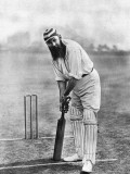 Dr. W.G. Grace at the Wicket, 1898 Fotografisk trykk